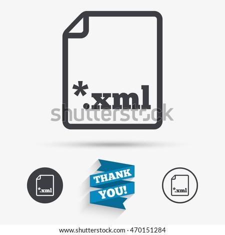 Xml document icon