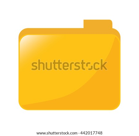 File icon. Planning concept. Vector graphic