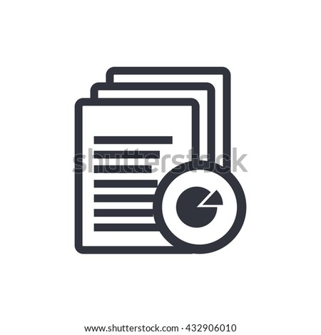 Files Pie Graph Icon, Files Pie Graph Eps10, Files Pie Graph Vector, Files Pie Graph Eps, Files Pie Graph App, Files Pie Graph Jpg, Files Pie Graph Web, Files Pie Graph Flat, Files Pie Graph Art  - stock vector