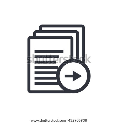 Files Right Icon, Files Right Eps10, Files Right Vector, Files Right Eps, Files Right App, Files Right Jpg, Files Right Web, Files Right Flat, Files Right Art, Files Right Ai, Files Right Icon Path - stock vector