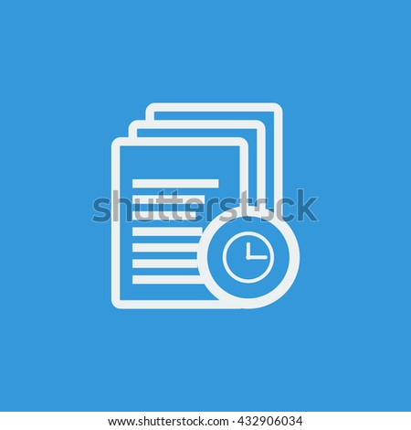 Files Time Icon, Files Time Eps10, Files Time Vector, Files Time Eps, Files Time App, Files Time Jpg, Files Time Web, Files Time Flat, Files Time Art, Files Time Ai, Files Time Icon Path - stock vector