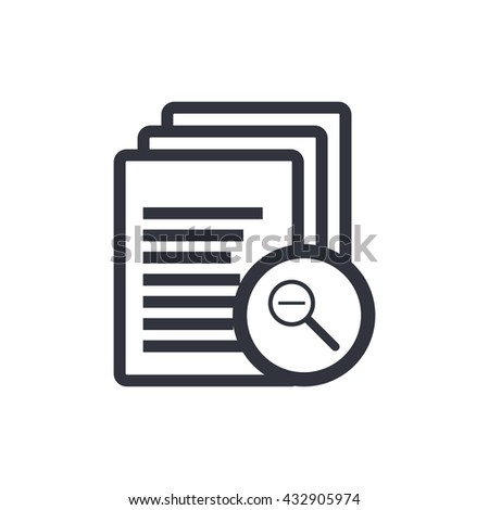 Files Zoom Out Icon, Files Zoom Out Eps10, Files Zoom Out Vector, Files Zoom Out Eps, Files Zoom Out App, Files Zoom Out Jpg, Files Zoom Out Web, Files Zoom Out Flat, Files Zoom Out Art - stock vector