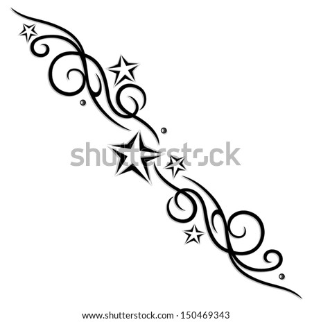 star tattoo stock images royalty free images vectors shutterstock. Black Bedroom Furniture Sets. Home Design Ideas