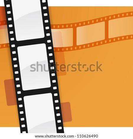 Film Background - stock vector