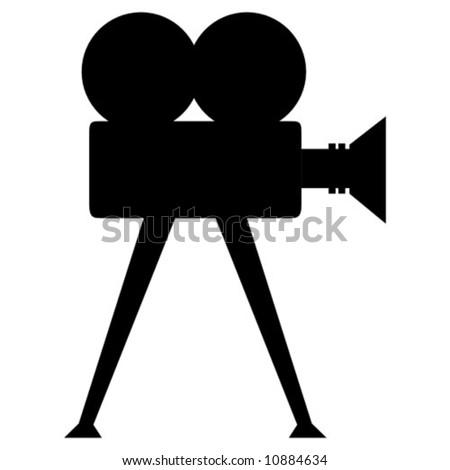 Film camera vector stock vector 10884634 shutterstock for Camera film logo
