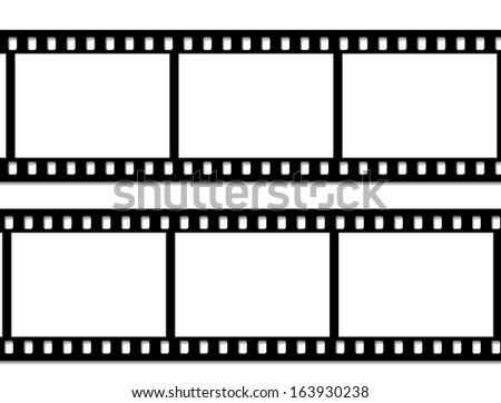 Film frame, Vector - stock vector
