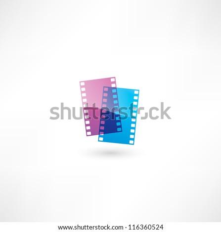 Film icon. - stock vector