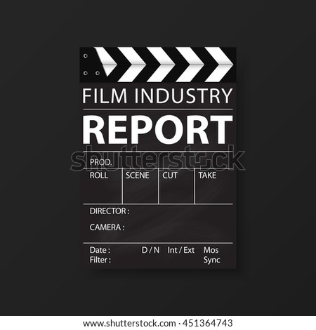 Film industry corporate Identity Templates for flyers brochure. Annual report cover abstract style on container background in a4 size. Cinema Business. Vector Illustration.