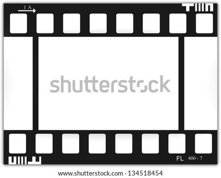 Film, movie, photo, filmstrip - stock vector