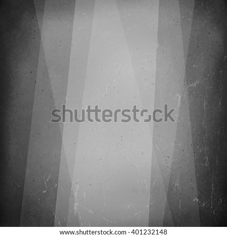 Film noir styled abstract screen. Old cinema background - stock vector