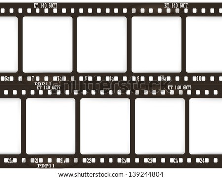 films - stock vector