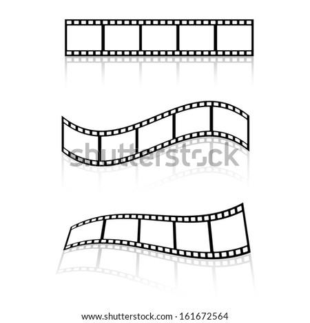 Films - stock vector