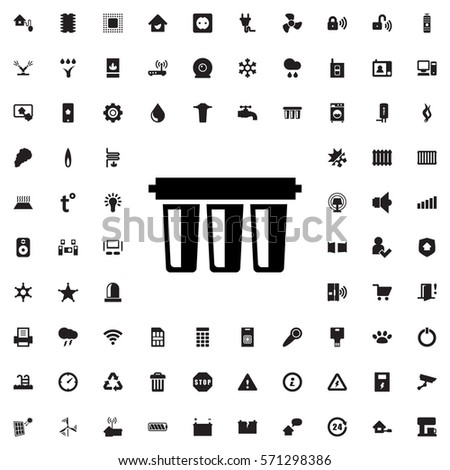 Filter Icon Illustration Isolated Vector Sign Stock Photo Photo