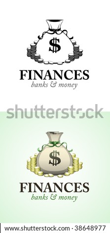 Finance logo - stock vector