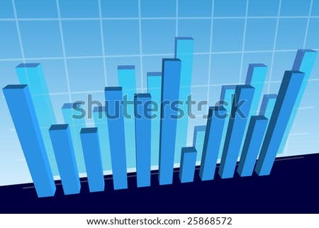 financial stat background