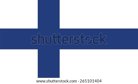 finland Flag for Independence Day and infographic Vector illustration. - stock vector