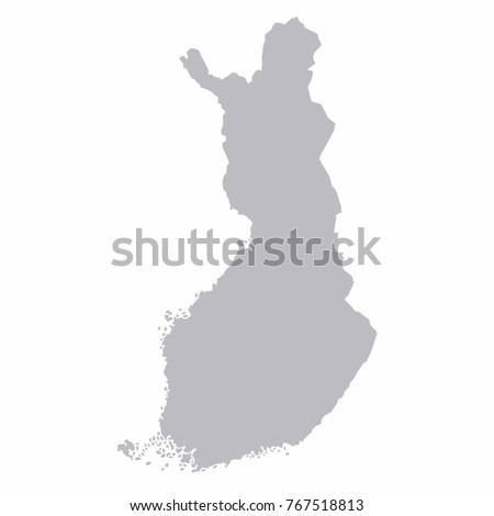 Finland world map country outline graphic stock vector 767518813 finland world map country outline in graphic design concept publicscrutiny Images