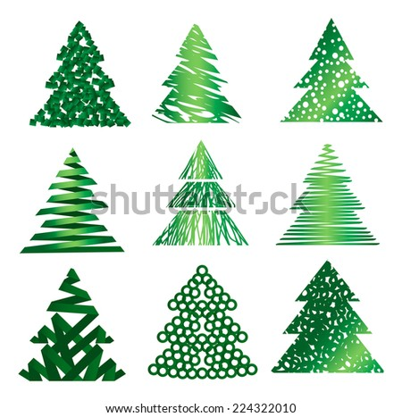 Fir icon set