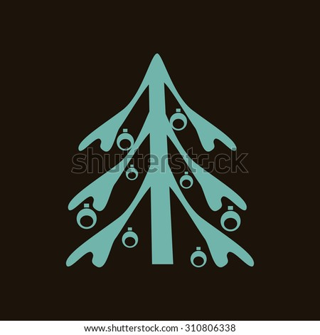 Fir-tree icon