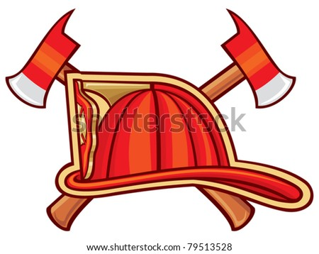 Fire Department or Firefighters Symbol - stock vector