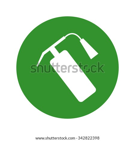 fire extinguisher icon - stock vector
