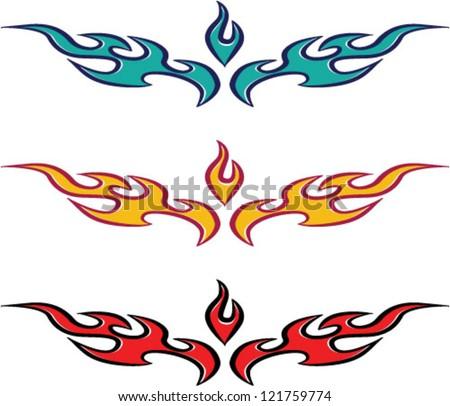 fire flames designs flame tattoo design