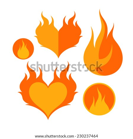 Heart On Fire Stock Images, Royalty-Free Images & Vectors ...