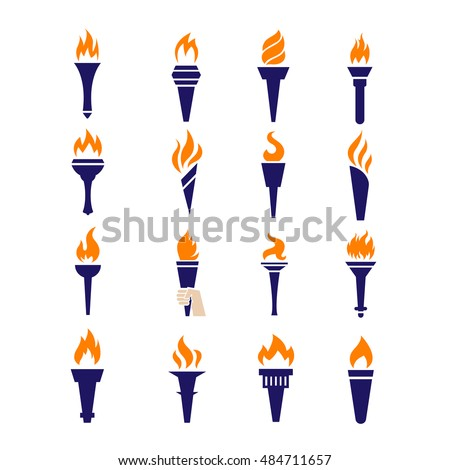 how to set a torch