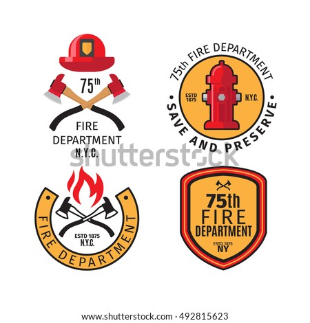 Fireman Badge Stock Images, Royalty-Free Images & Vectors ...