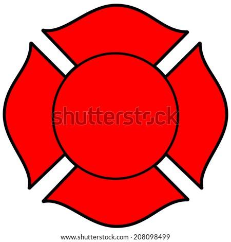 firefighter maltese cross stock photo photo vector illustration rh shutterstock com blank maltese cross clip art fireman maltese cross clip art
