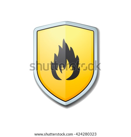 Firewall shield sign