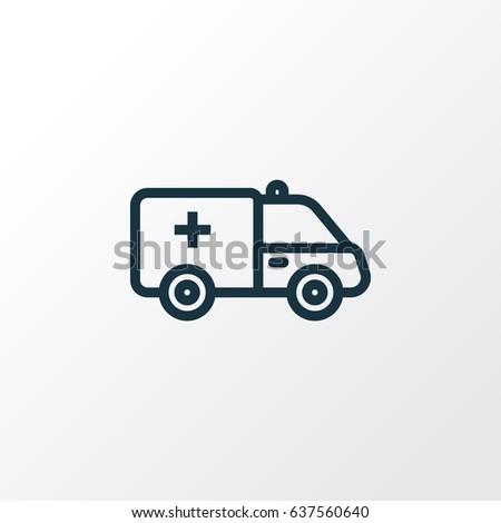 Ambulance Stock Vector 655524604 - Shutterstock
