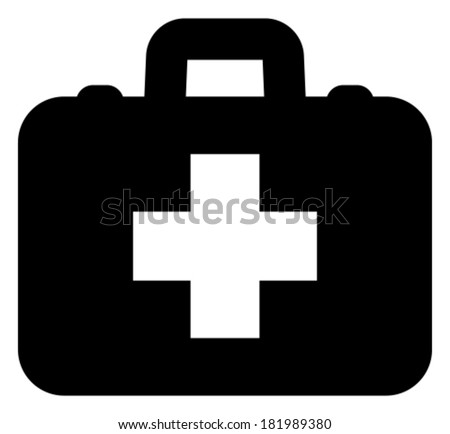 First aid vector icon - stock vector