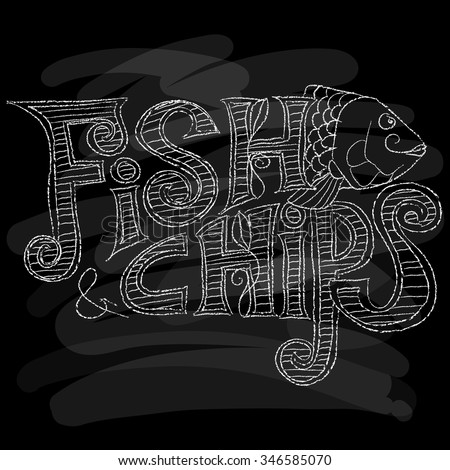 Mark in 39 s portfolio on shutterstock for Oak city fish and chips menu