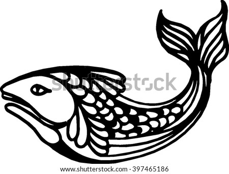 Fish Icon Art Web New App