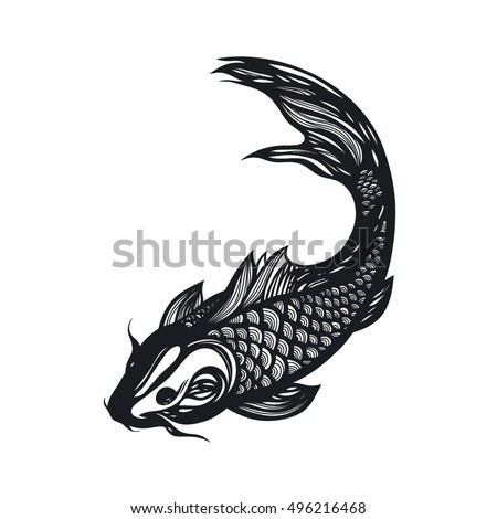 Koi fish stock images royalty free images vectors for Koi fish vector