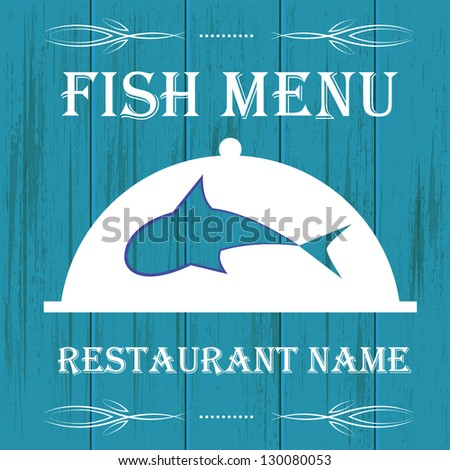 Fish restaurant stock images royalty free images for Little fish menu