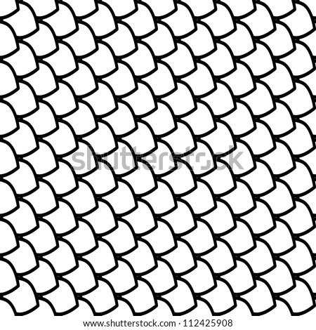 Fish Pattern Drawing Fish Scales Texture