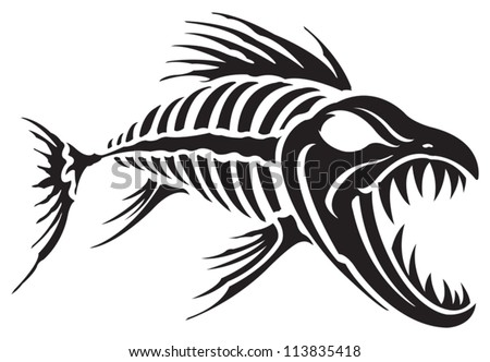 Fish Bones Stock Images, Royalty-Free Images & Vectors | Shutterstock