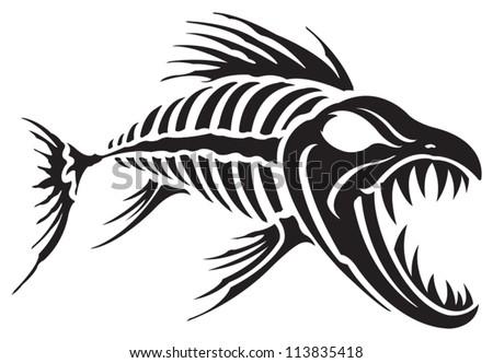 Fish Bones Stock Images, Royalty-Free Images & Vectors | Shutterstock