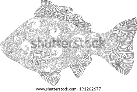 Fish with a pattern (circuit)