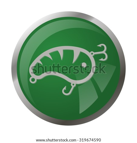 Fishing icon. Fishing icon vector. Fishing icon simple. Fishing icon app. Fishing icon web. Fishing icon logo. Fishing icon sign. Fishing icon ui. Fishing icon flat. Fishing icon eps.Fishing icon art - stock vector