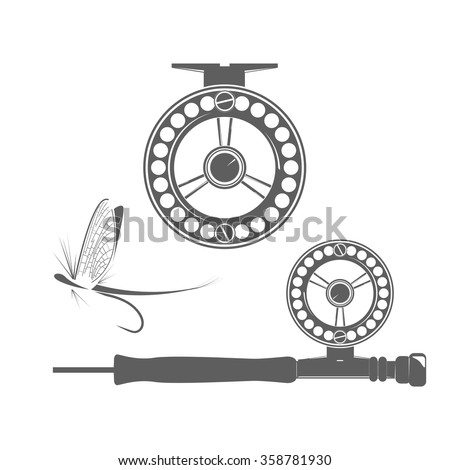 fly fishing stock vectors  images   vector art shutterstock man fishing clipart man fishing clipart