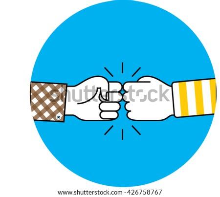 royalty free stock photos cartoon businessman show hand