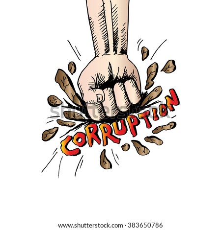 corruption posters