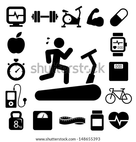 Fitness Icon Stock Images, Royalty-Free Images & Vectors ...