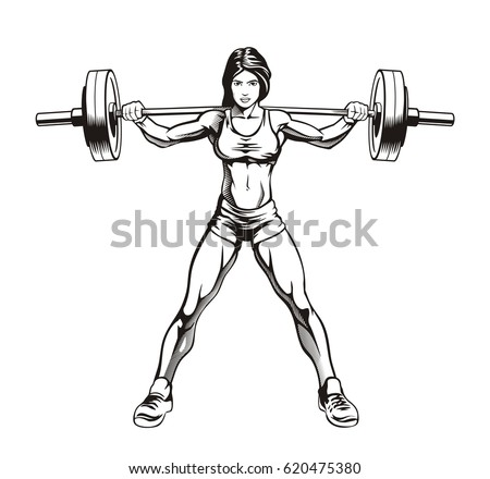 Overhead Squat Drawing Squat Stock Images, Ro...