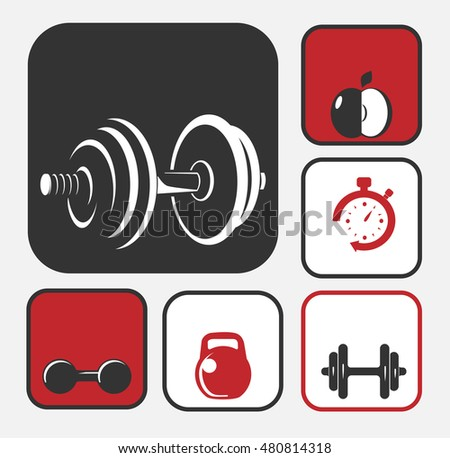 Gym Equipment Logo: Stock Images, Royalty-Free Images & Vectors