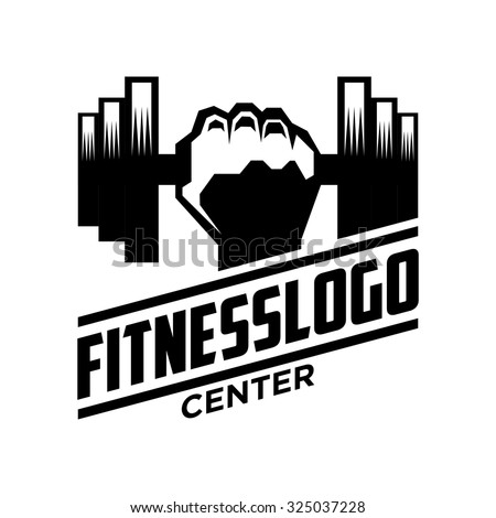 fitness logo stock photos images amp pictures shutterstock