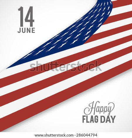 Flag day badge background